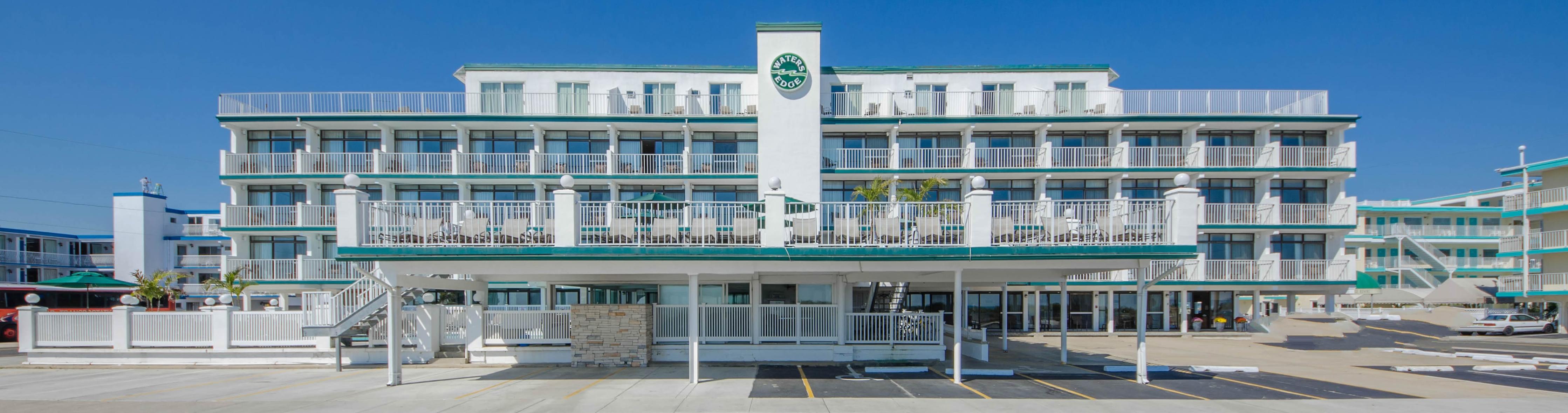 Pan american hotel wildwood crest nj - Welcome To The Waters Edge Ocean Resort In Wildwood Crest New Jersey